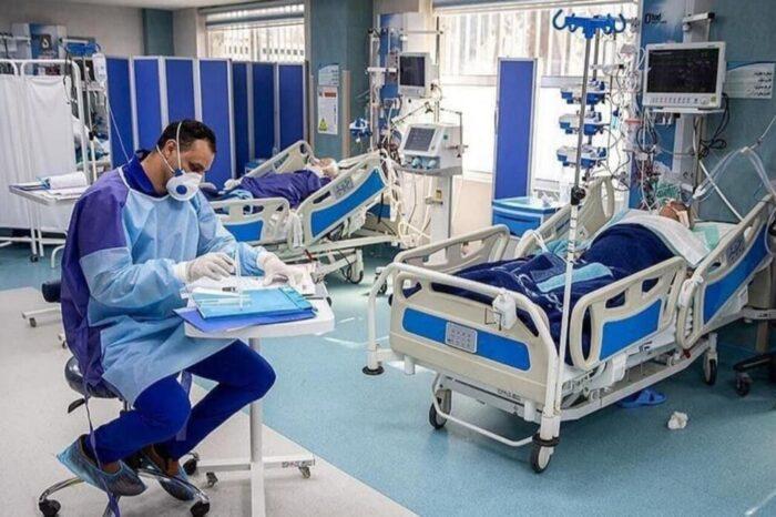 بستری کرونا 700x466 - بیمارستانهای گیلان مملو از بیماران کرونایی/ بستری ۲۵۰ نفر در یک شبانهروز