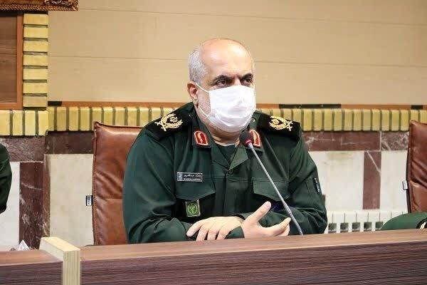 سردار محمد عبدالله پور - در بحث انتخاب شهرداران کسی حق ندارد از سپاه هزینه کند