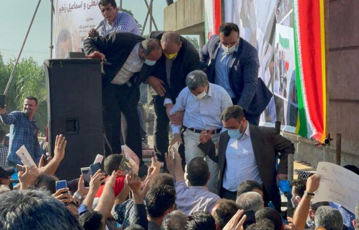 گزارش تصویری مراسم یادواره برادران شهید قربانعلی و اسماعیل رنجبر با سخنرانی دکتر محمود احمدی نژاد