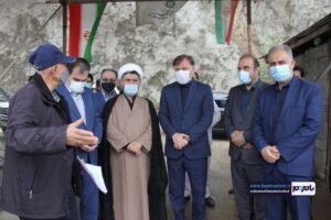 بازدید جمعی از مسئولین استانی و شهرستانی از سد مخزنی پلرود شهرستان رودسر