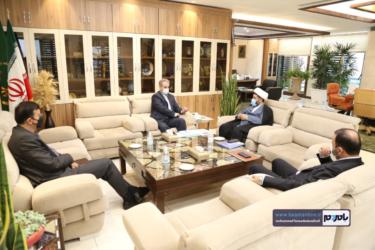دیدار نماینده مردم رودسر و املش در مجلس شورای اسلامی با وزیر جهادکشاورزی