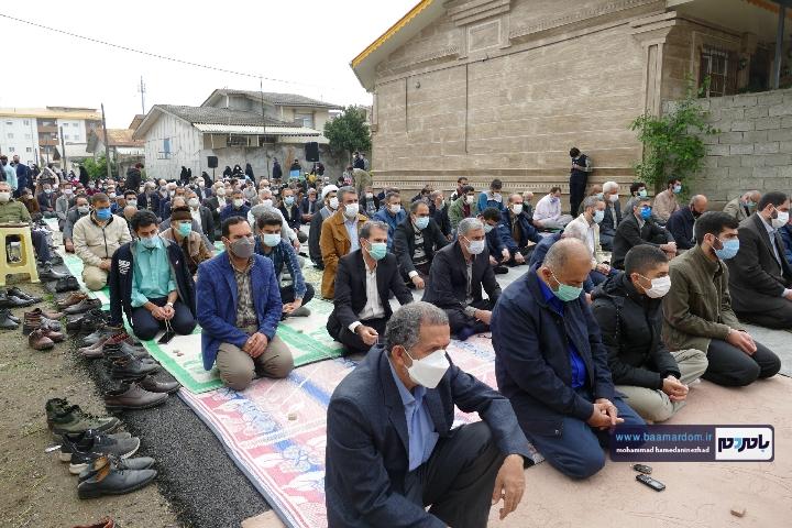 Negar ۲۰۲۱۰۵۱۳ ۱۸۲۳۳۵ - گزارش تصویری اقامه نماز عید سعید فطر در شهرستان رودسر