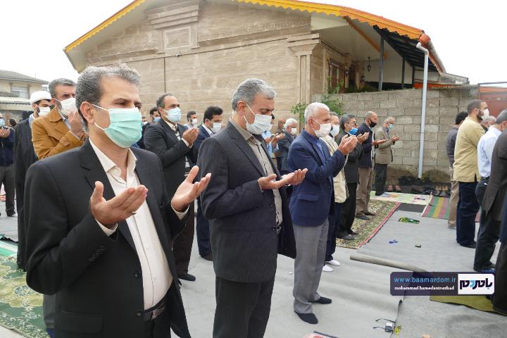 Negar ۲۰۲۱۰۵۱۳ ۱۸۲۵۴۱ - گزارش تصویری اقامه نماز عید سعید فطر در شهرستان رودسر