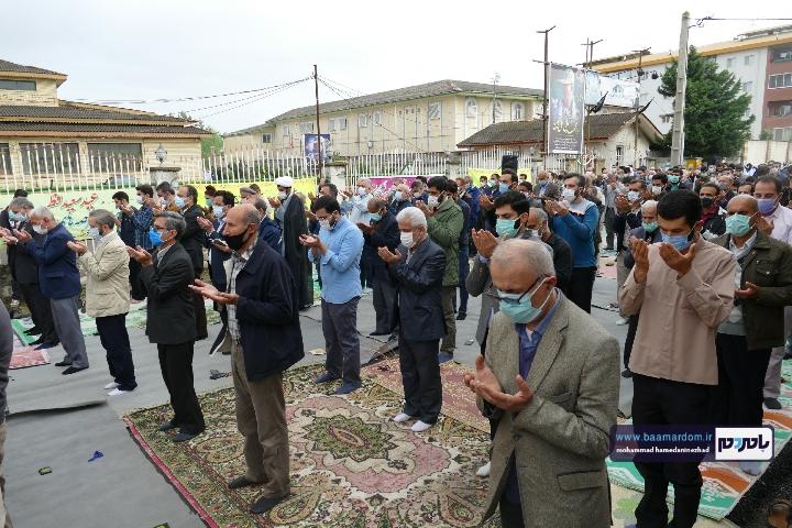 Negar ۲۰۲۱۰۵۱۳ ۱۸۲۶۲۱ - گزارش تصویری اقامه نماز عید سعید فطر در شهرستان رودسر
