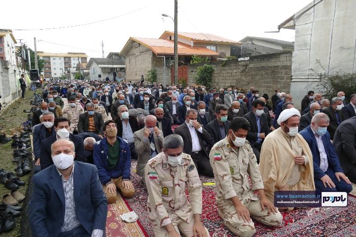 Negar ۲۰۲۱۰۵۱۳ ۱۸۲۷۲۸ - گزارش تصویری اقامه نماز عید سعید فطر در شهرستان رودسر