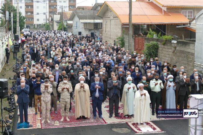 گزارش تصویری اقامه نماز عید سعید فطر در شهرستان رودسر