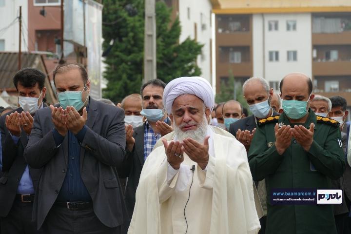 Negar ۲۰۲۱۰۵۱۳ ۱۸۳۲۳۱ 1 - گزارش تصویری اقامه نماز عید سعید فطر در شهرستان رودسر