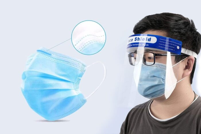 شیلد محافظ صورت و ماسک تنفسی 3 700x468 - کاربرد شیلد محافظ صورت و ماسک تنفسی چیست؟