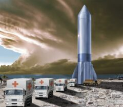 آمریکا به دنبال ارسال مهمات جنگی با کمک موشکهای فضایی!