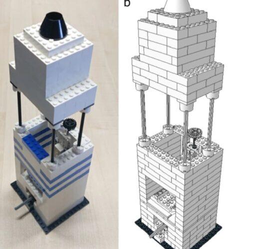 61962379 507x500 - ابداع یک میکروسکوپ کمهزینه با استفاده از لگو و لنز تلفن همراه!
