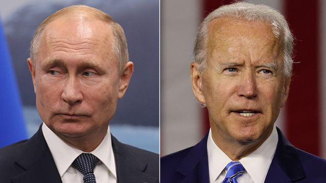 بایدن و پوتین - بایدن روسیه را رسما تهدید به جنگ کرد