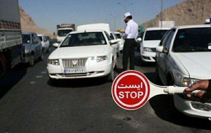 ایست اعمال قانون 700x442 - اعمال قانون ۱۱ هزار راننده متخلف در گیلان
