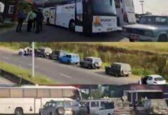 بازداشت تور لیدر متخلف و بازگشت اتوبوس حامل گردشگران در تالش