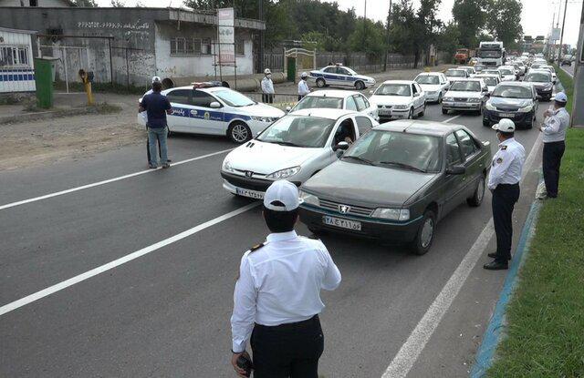 ترافیک ورودی شهر بستن شهر - دستگیری عاملان درگیری با مامور وظیفه شناس در لاهیجان