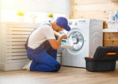 نحوه تعمیر ماشین لباسشویی