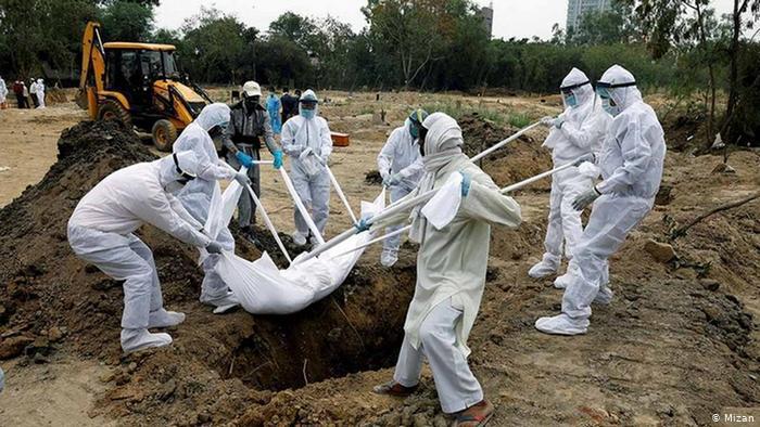 دفن کرونایی - چه فاجعه ای باید رخ دهد تا گیلان تعطیل شود؟!