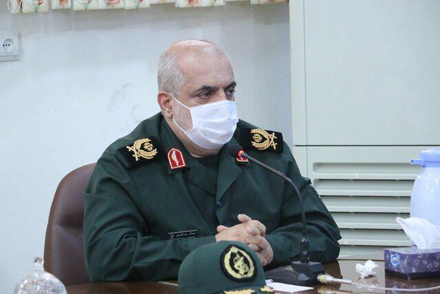 سردار محمد عبدالله پور - ۶۰ پایگاه واکسیناسیون مشترک میان سپاه و دانشگاه علوم پزشکی گیلان راه اندازی شد