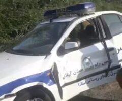 مرگ مامور پلیس راه گیلان حین ماموریت