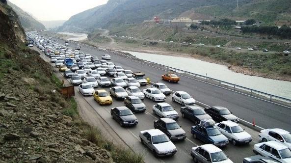 مسافرت تفریح ترافیک - تلاش خستگی ناپذیر مسافران برای ورود به گیلان!