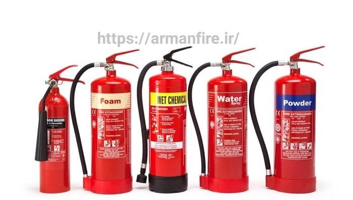 کپسول آتش نشانی - مراحل انتخاب بهترین مارک و خرید کپسول آتش نشانی تا نحوه شارژ