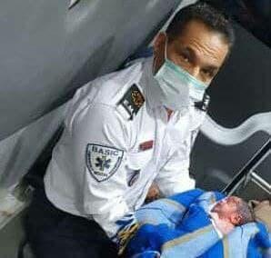 تولد نوزاد عجول با کمک نیروهای اورژانس در رودسر - تولد نوزاد عجول با کمک نیروهای اورژانس در رودسر