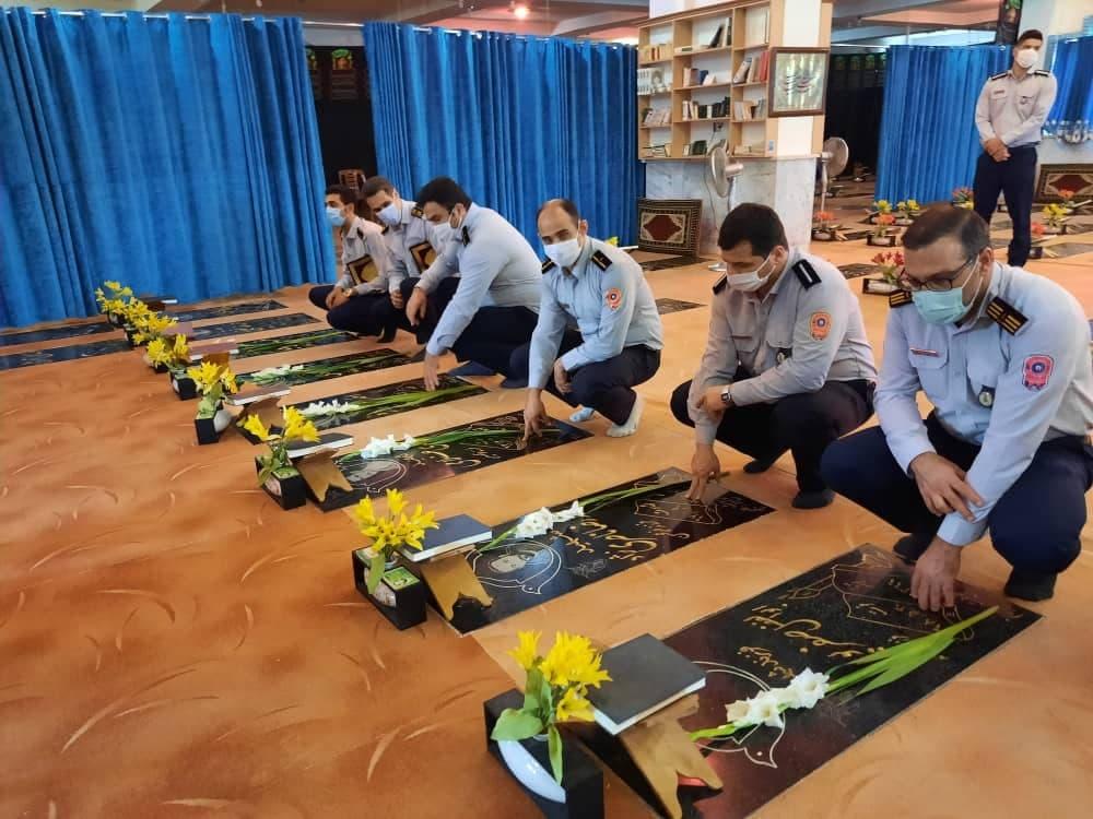 روز آتش نشانی و ایمنی 2 - گزارش تصویری مراسم روز آتش نشانی و ایمنی در لاهیجان