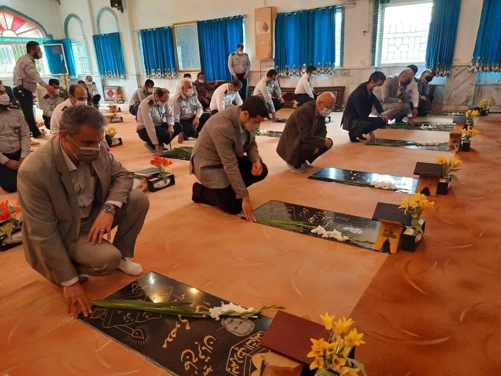 روز آتش نشانی و ایمنی 3 - گزارش تصویری مراسم روز آتش نشانی و ایمنی در لاهیجان