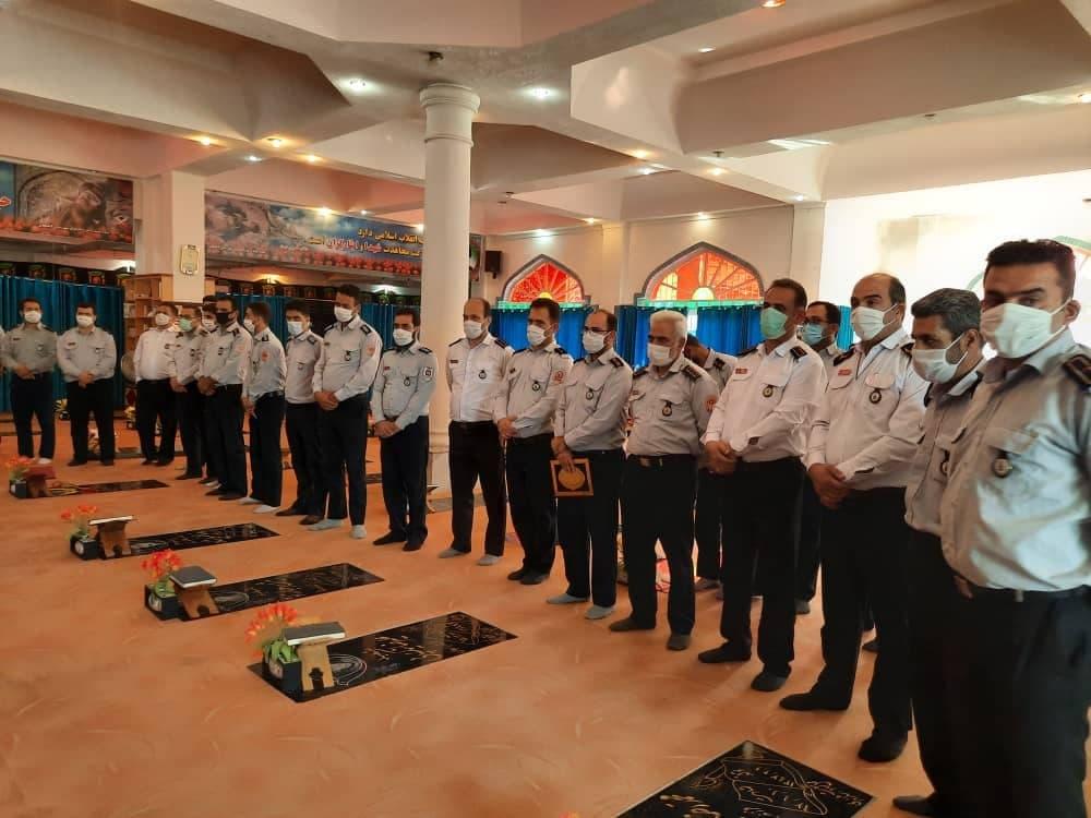 روز آتش نشانی و ایمنی 5 - گزارش تصویری مراسم روز آتش نشانی و ایمنی در لاهیجان