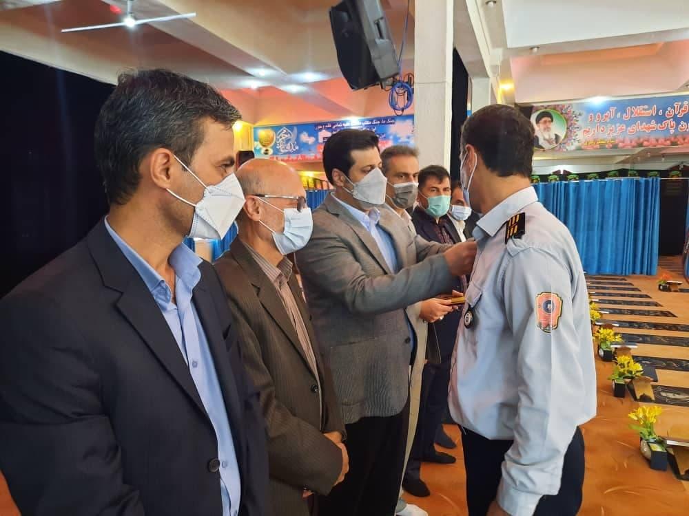 روز آتش نشانی و ایمنی 6 - گزارش تصویری مراسم روز آتش نشانی و ایمنی در لاهیجان