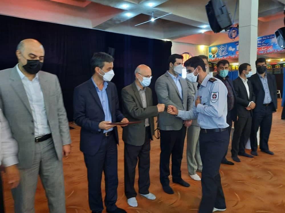 روز آتش نشانی و ایمنی 7 - گزارش تصویری مراسم روز آتش نشانی و ایمنی در لاهیجان