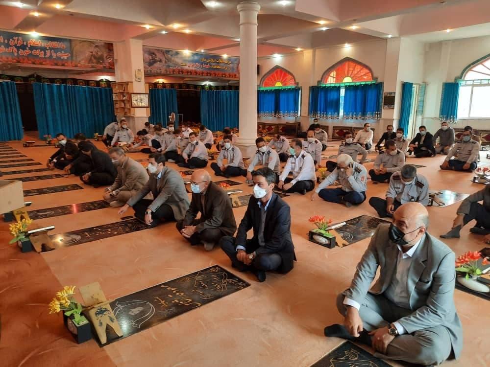 روز آتش نشانی و ایمنی 8 - گزارش تصویری مراسم روز آتش نشانی و ایمنی در لاهیجان