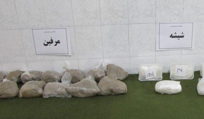 مواد مخدر 1 700x408 - ناکامی قاچاقچیان مواد مخدر در مرز های غربی گیلان