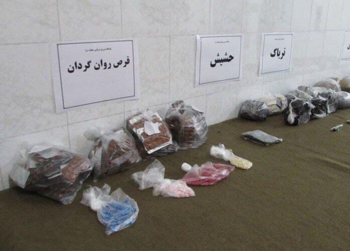 مواد مخدر 2 697x500 - ناکامی قاچاقچیان مواد مخدر در مرز های غربی گیلان