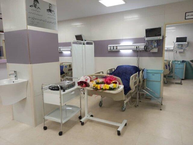 تخت بیمارستان 1 - بخش بهداشت و درمان فومن توسعه یافت