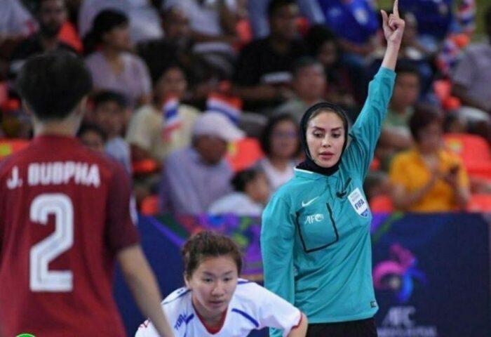 گلاره ناظمی 700x480 - تاریخ سازی بانوی گیلانی در جام جهانی فوتسال/ گلاره ناظمی داور فینال شد