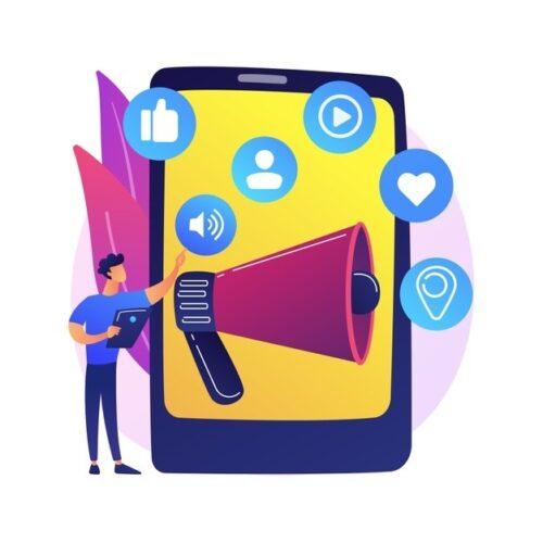 3 500x500 - تاثیر فعالیت در شبکه های اجتماعی بر سئو سایت